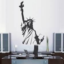 sun wall decal trendy designs: the statue of liberty wall decal from trendy wall designs is fun for the whole family with a quick and easy installation you can brighten walls without