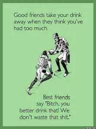 Good friends vs best friends | Funny Dirty Adult Jokes, Memes ... via Relatably.com