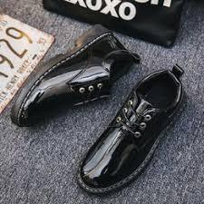 Men Casual Leather Round Toe Shoes Fashion Business ... - Vova