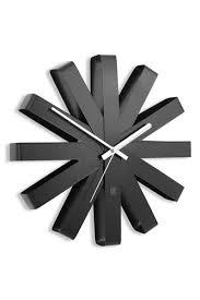 <b>Часы настенные ribbon</b> чёрныe Черный, приобрести, цена с ...