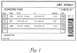 patent us7017806 method of selecting and storing airline ticket patent drawing