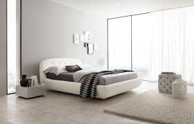 italy leather high bedroom furniture