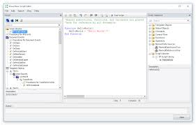 bartender professional the vb script editor is a dynamic tool that makes it possible for users to script data sources easily