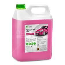 <b>Автошампунь Grass Active</b> Foam Pink, 6 кг в Москве: отзывы ...