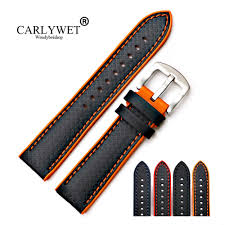 <b>CARLYWET 20 22mm New</b> Style High Quality Rubber Silicone With ...