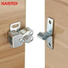 Buy <b>NAIERDI 2PCS Magnet</b> Cabinet Catches Door Stop Stoppers ...