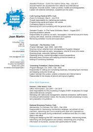 cv work experience my work experience jean martin jean martin creative and digital marketing