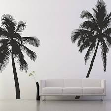 palm tree wall stickers: palm tree wall stickers original palm tree silhouette wall stickers