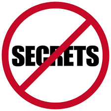 Image result for no more secrets
