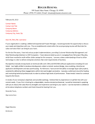 technology cover letter example how does a cover letter look like