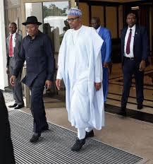 Image result for jonathan visit aso villa yesterday