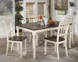 Dining Room Table And 4 Chairs D583 25 024 Whitesburg Dining Table With 4 Chairs