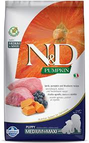 Farmina N&D Dog Dry Puppy Grain-Free Pumpkin ... - Amazon.com