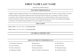 resume templates for educators resume templates for educators makemoney alex tk