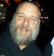 Merry Russell: Crowe was pictured late last night in New York looking happy despite his marriage woes. But it is also being suggested by friends of the ... - article-2217578-1581A55F000005DC-354_634x650