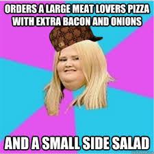 scumbag fat girl memes   quickmeme via Relatably.com