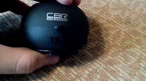 обзор мини колоноки <b>CBR CMS</b> 100 - YouTube