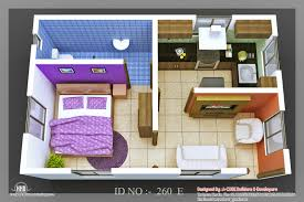 Small Picture Recent 3D Isometric Views Of Small House Plans Kerala Home Design