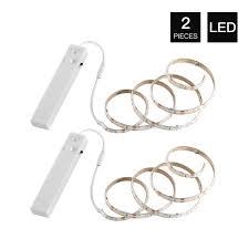 YOUKOYI <b>Battery</b> Powered LED Strip Lights Flexible Motion Sensor ...