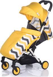 <b>Коляска прогулочная BabyHit Amber</b> Plus, цвет: желтый