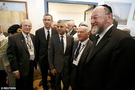 Image result for Sadiq Khan WITH JEWISH LEADER PHOTO