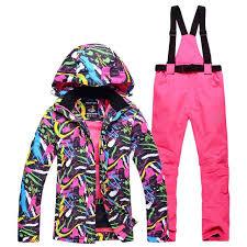 NEW Skiing suits Jackets pants <b>women Snowboarding Sets Female</b> ...