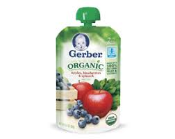 Gerber Coupons Organic Spinach Pouch