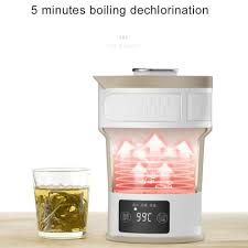 <b>Folding Compressed Electric Kettle</b> Travel Portable Mini Insulation ...