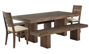 Dining Room Tables With Bench Dining Table With Bench And Chairs Trend About Remodel Home