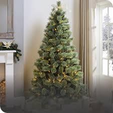 Artificial, Snow, Prelit <b>Christmas Trees</b> | The Range