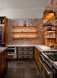 penny tiles kitchen contemporary with accent lighting back splash bar pulls black back bar lighting