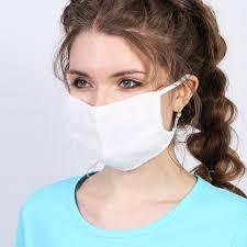 Повязка (<b>маска</b>) <b>тканевая для</b> лица № 2 на резинке от компании ...
