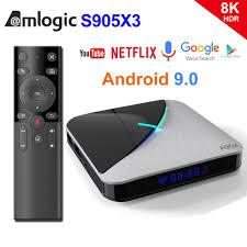 <b>A95X F3 Air</b> 8K RGB Light <b>TV</b> Box Android 9.0 Amlogic S905X3 4GB ...