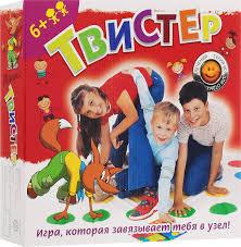"""Семейная <b>игра</b> """"<b>Твистер</b>"""" — купить в интернет-магазине OZON с ..."""
