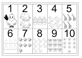 printable numbers best worksheet number chart 1 10 counting