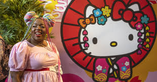 A <b>Hello Kitty</b> fan visits L.A. pop-up celebrating the character - Los ...