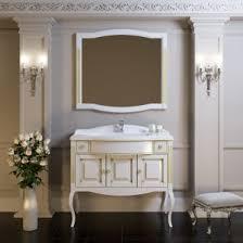 <b>Зеркало Опадирис Лаура 100</b> цвет белый с патиной - San-Room