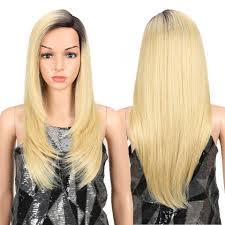 <b>Magic Hair</b> Synthetic <b>Hair Lace Front Wig</b> 24 Inch Long Straight <b>Wig</b> ...