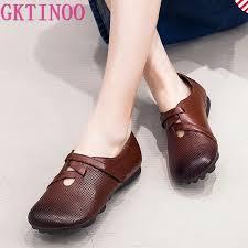GKTINOO <b>2019 Autumn New</b> Vintage Handmade Shoes Loafers ...