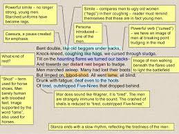 dulce et decorum est notes analysis essay   essay for you    dulce et decorum est notes analysis essay   image
