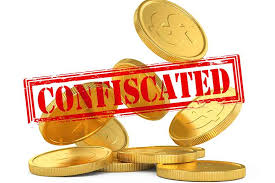 Image result for gold confiscation