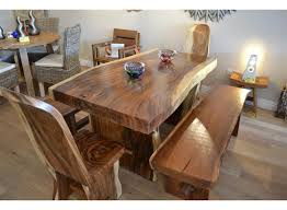 chunky dining table and chairs  dining table suar wood swf   dining table suar wood