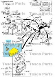 new oem front wiring harness main fuse block cover mazda cx5 amp image is loading new oem front wiring harness main fuse block