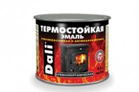 <b>Эмаль термостойкая</b> черная 0,4л <b>DALI</b> / Краски акриловые купить ...