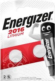 Купить <b>Батарейки Energizer</b> Miniatures <b>Lithium CR2016</b> 2шт с ...