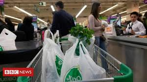 Chile bans <b>plastic bags</b> for businesses - BBC News