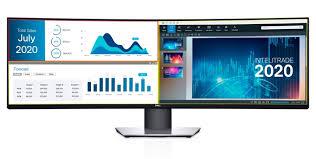 <b>Dell UltraSharp</b> U4919DW: <b>монитор</b> Dual QHD размером 49 дюймов