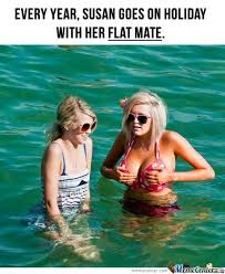 She Goes Out With Her Flat Flatmate by kevin_mathew - Meme Center via Relatably.com
