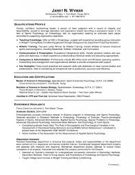 college degree resume format