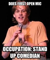 Bad open Mic Comic memes   quickmeme via Relatably.com